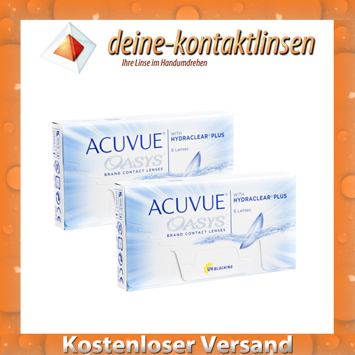acuvue oasys 2 x 6 st ck bc 8 4 kontaktlinsen von johnson. Black Bedroom Furniture Sets. Home Design Ideas